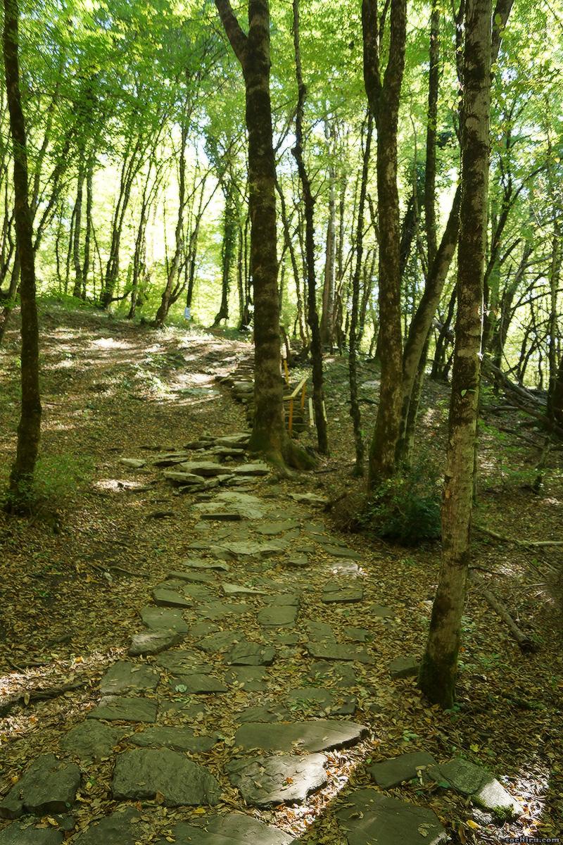 Дорога к Воронцовской пещере
