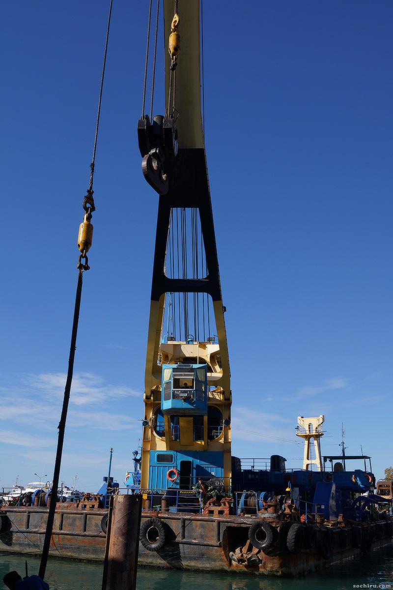 Морской порт в ноябре: реконструкция