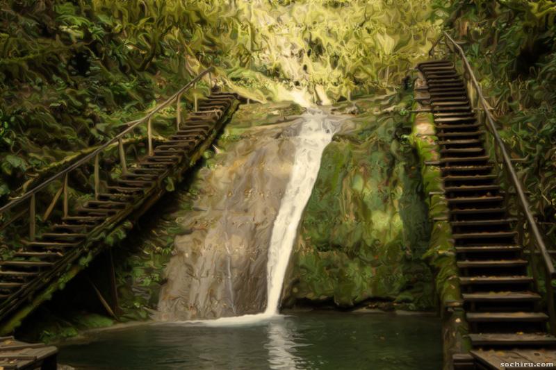 красоты 33-ёх водопадов