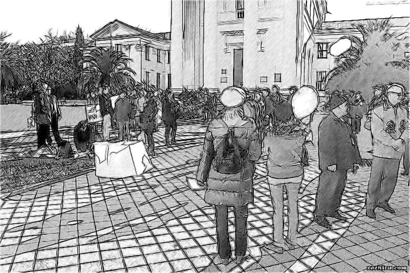 митинг против строительства Кудепстинской ТЭС