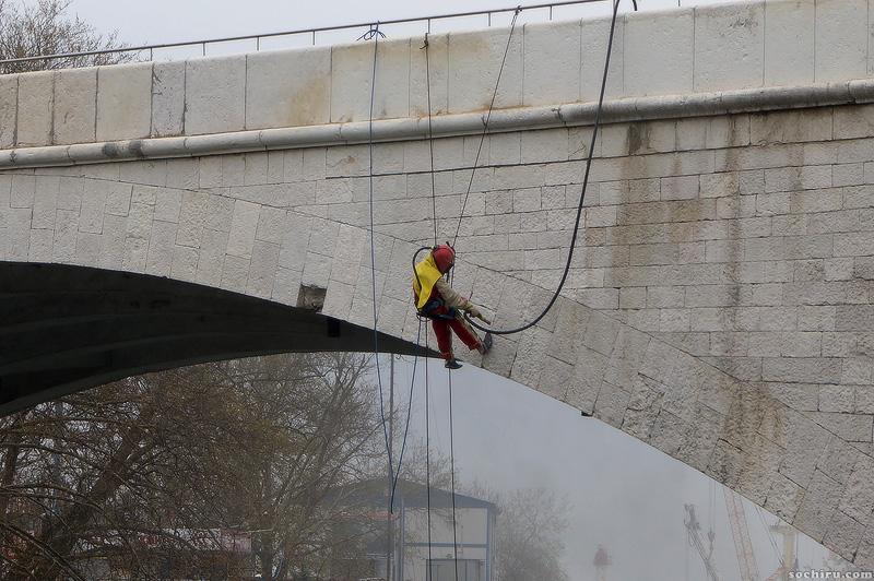 реставрация ривьерского моста