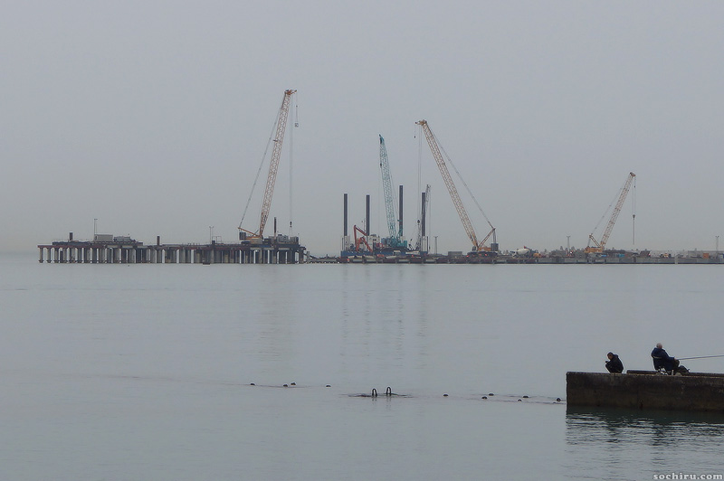 Расширение акватории морского порта