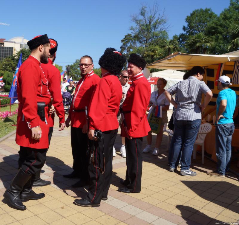 12 июня: казаки