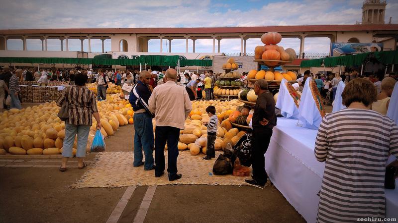 Восточный базар в Сочи