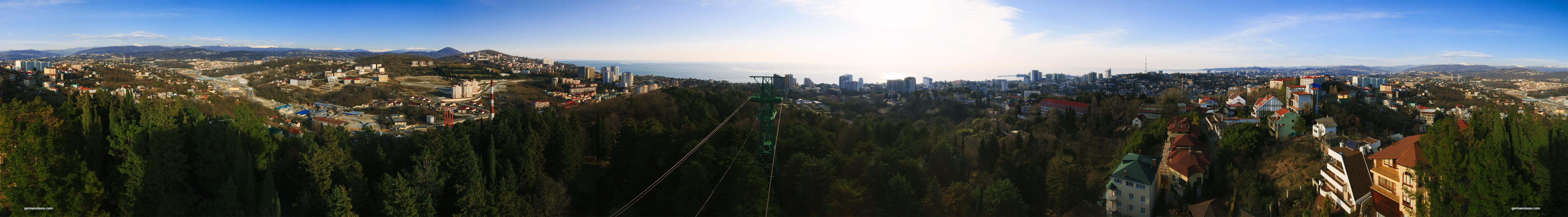 Панорама парка Дендрарий