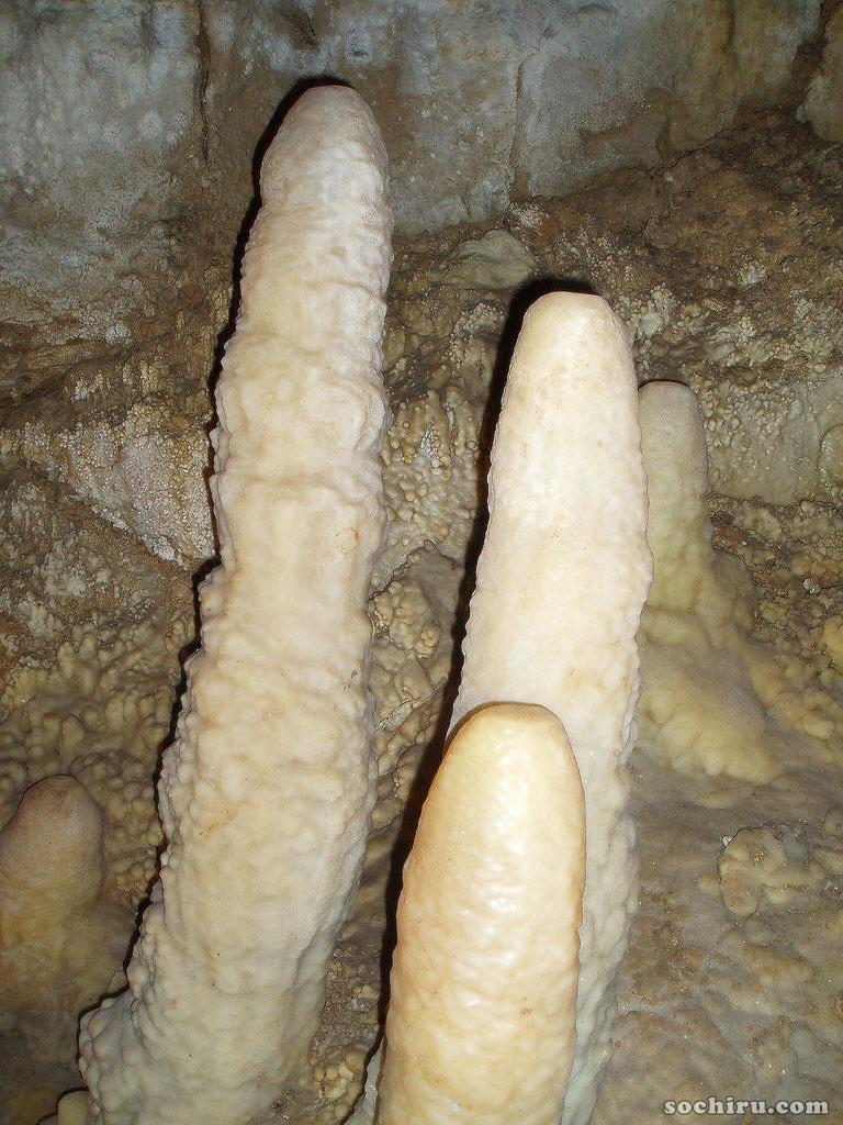 В Новоафонской пещере