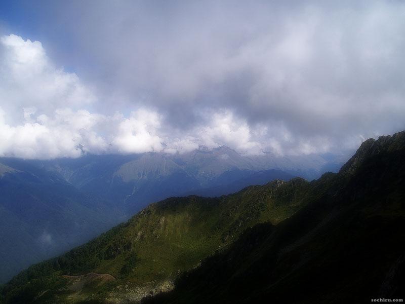 Вид с гор