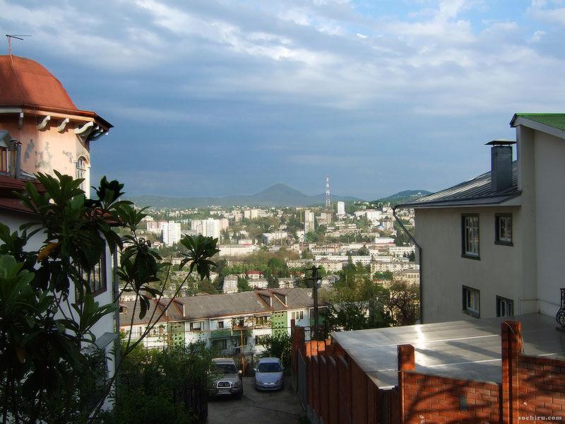 Вид на город с улицы Госпитальной