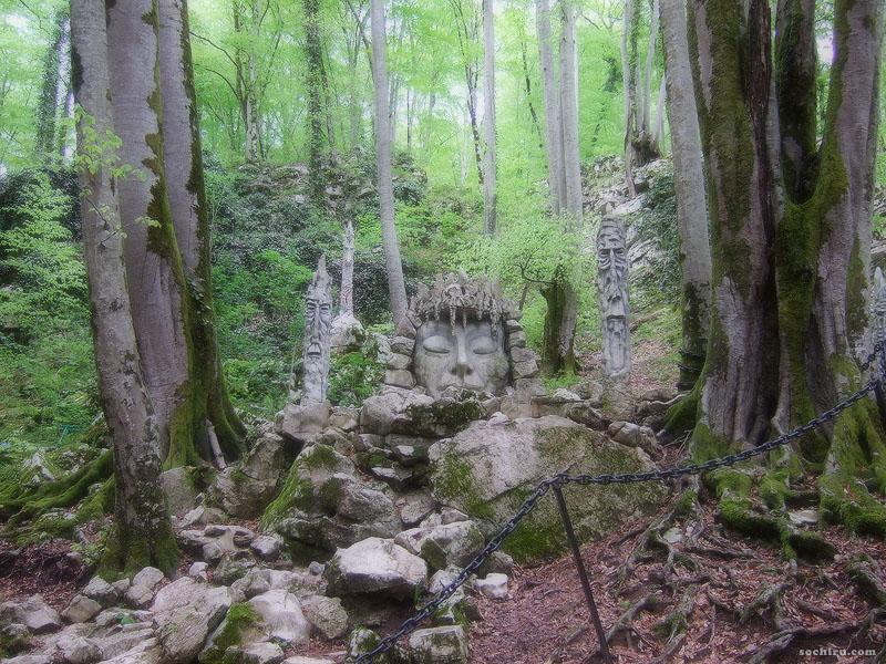 Около Воронцовских пещер