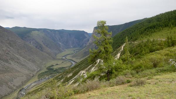 Перевал серпантин Кату-Ярык