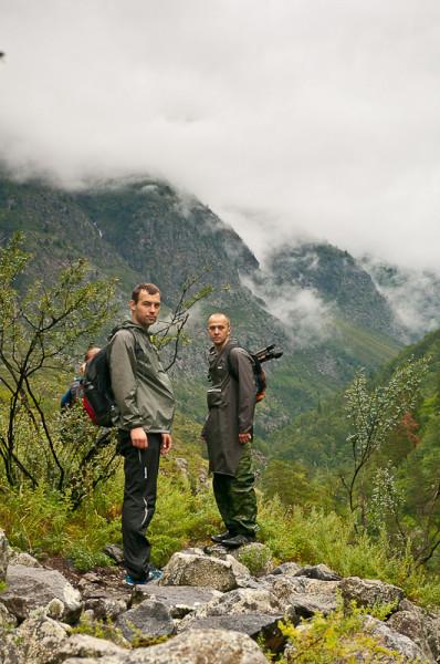 Поход на водопад Учар