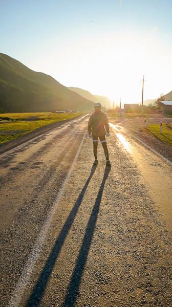 Солнечный Чуйский тракт