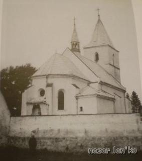 Костел в Соколівці. Стан на 1993 р.