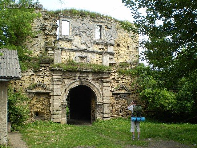 Чернелиця. Руїни замку Чарторийського, XVII ст.: nazarlanko — LiveJournal