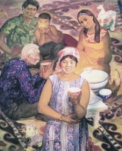 Калмыцкий чай К. Ольдаева 1973