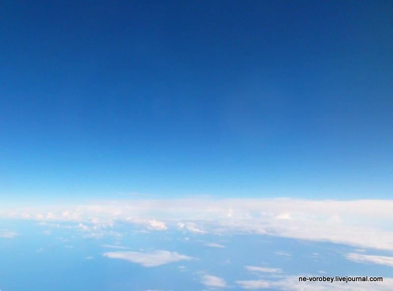 Утреннее небо над морем