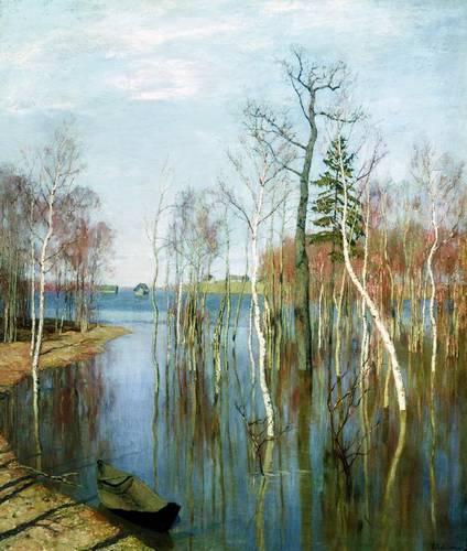 Весна в русской живописи