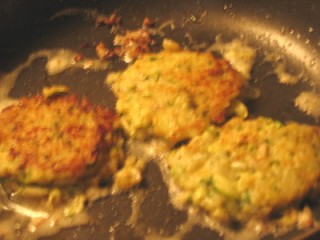 Zucchini Rice Fritters