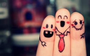 пальцы-друзья-веселье-дружба-202797