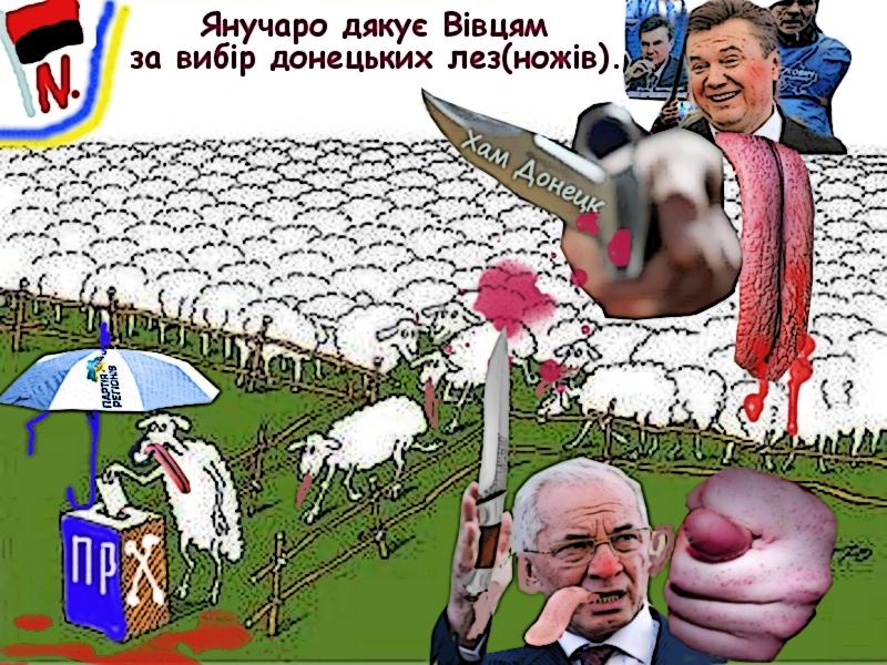 яниучаро дякує вівцям