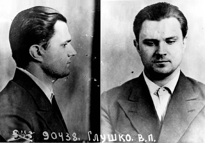 В.П.Глушко в Бутырской тюрьме в 1938 г.