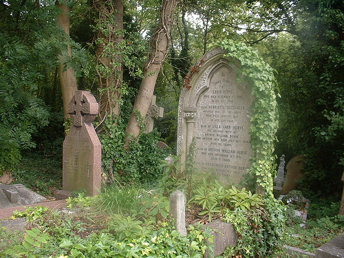 colderidge and Highgate cemetery 015