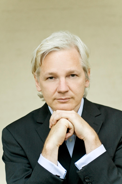 julian assange - 733×1100
