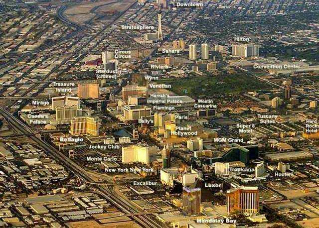 карта Лас-Вегаса