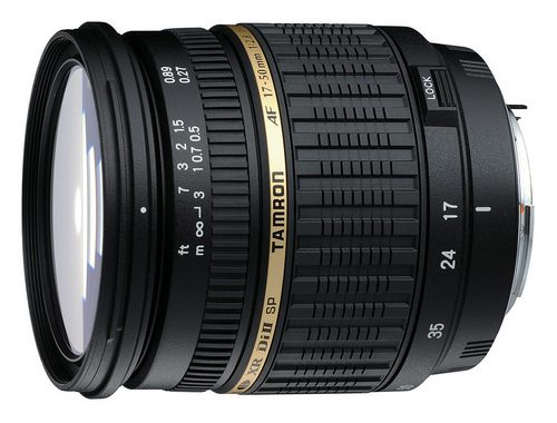 Tamron SP 17-50 mm f/2.8