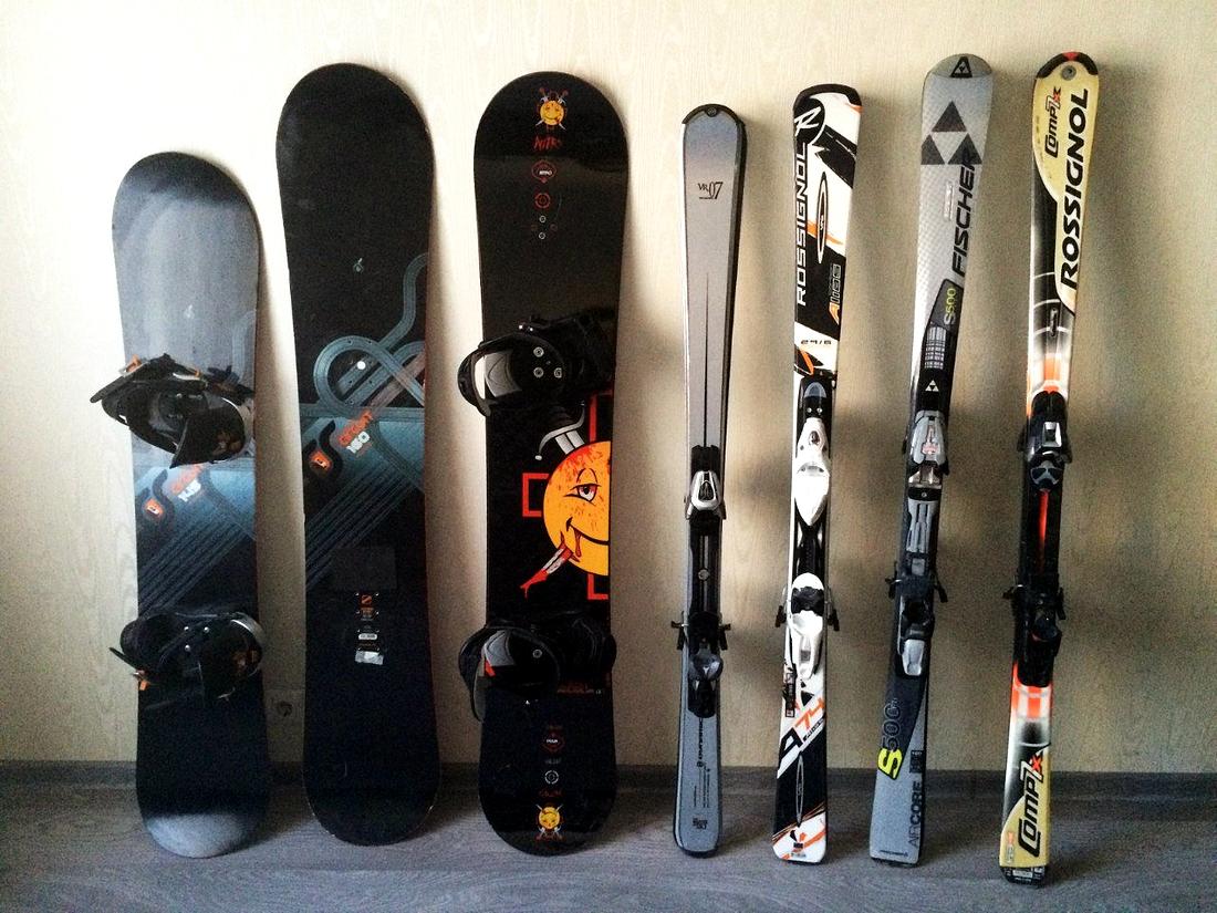 Лыжи или сноуборд? Нужен совет.