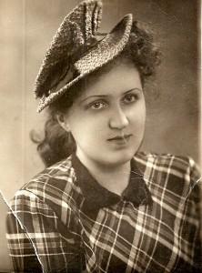Бабушка, жена Анатолия Жеребцова