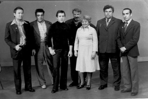 телестудия в Грозном, СССР