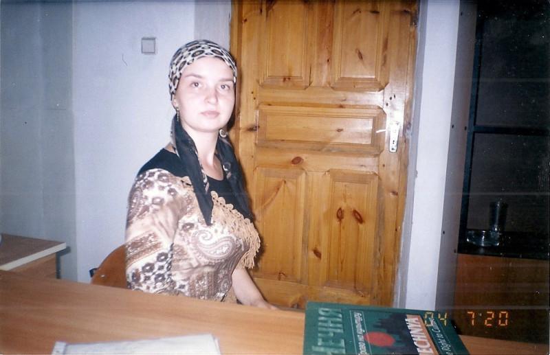 """Фото сделано в редакции газеты """"Вести Республики"""", 2004 год"""