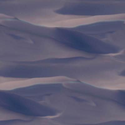sand dunes dusk