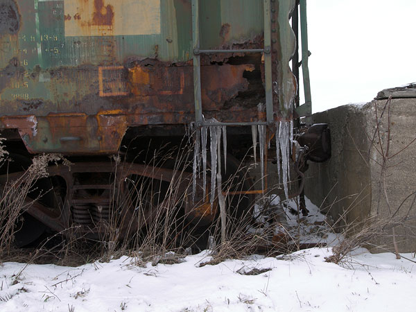 rust and icicles