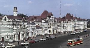 Скажите пожалуйста, какие три московских транспортных кольца пересекаются в месте, изображенном на картинке?