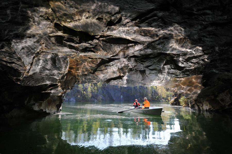 каньон «Рускеала»