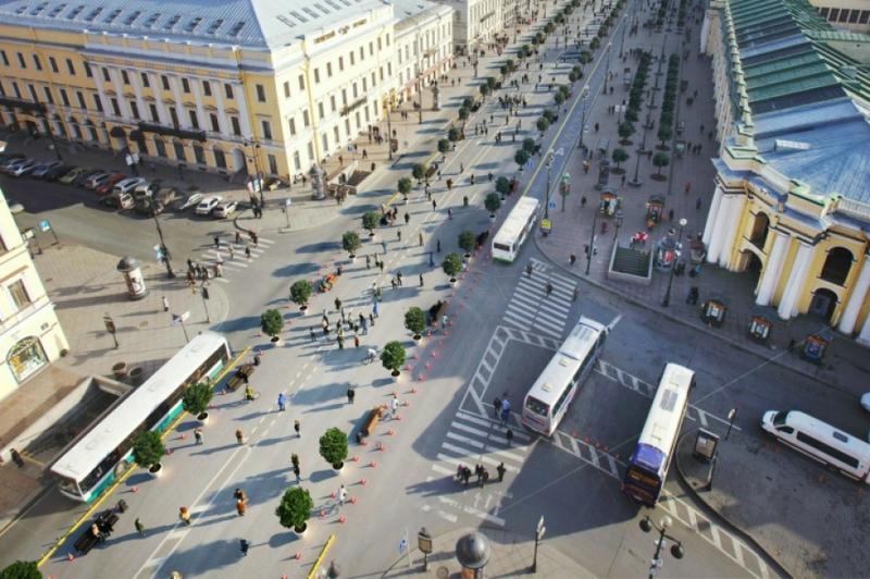 пешеходный невский проспект