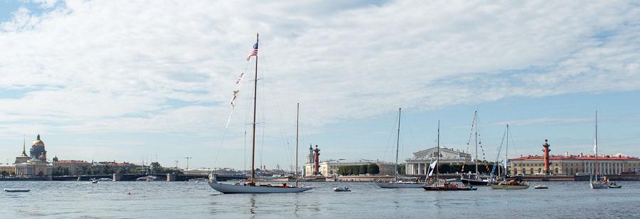 яхты в Петропавловской крепости 2015