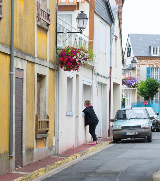 Normandia Villerville Post-9