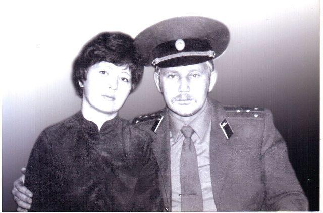 Леонид и жена Катя