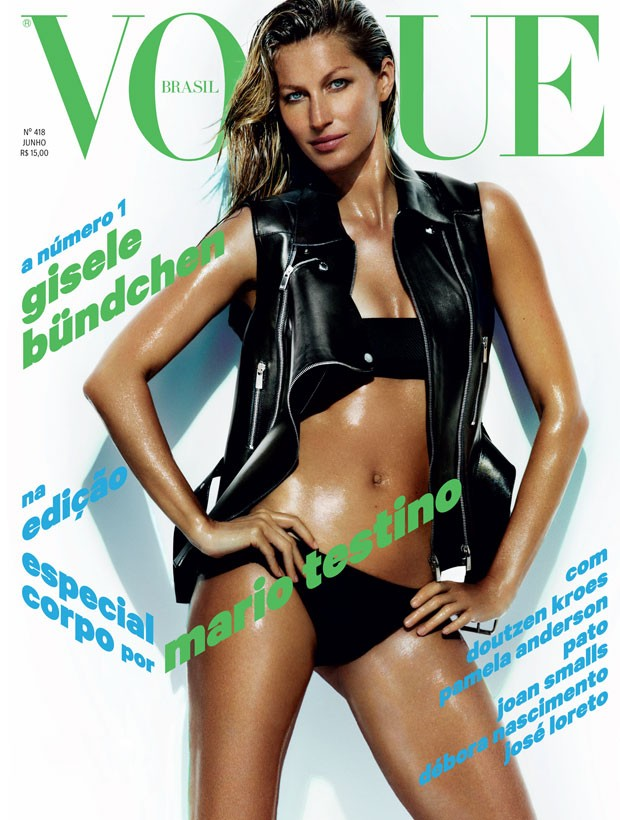Gisele Bundchen for Vogue Brazil June 2013 Cover-001