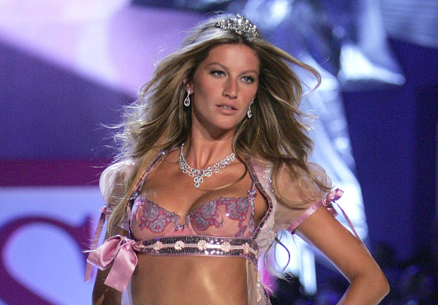Gisele Bundchen Highest Paid Models
