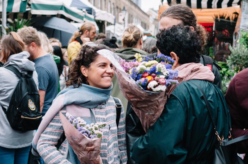 Лондон, цветочный рынок