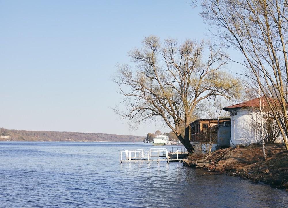 Волга в Плёсе