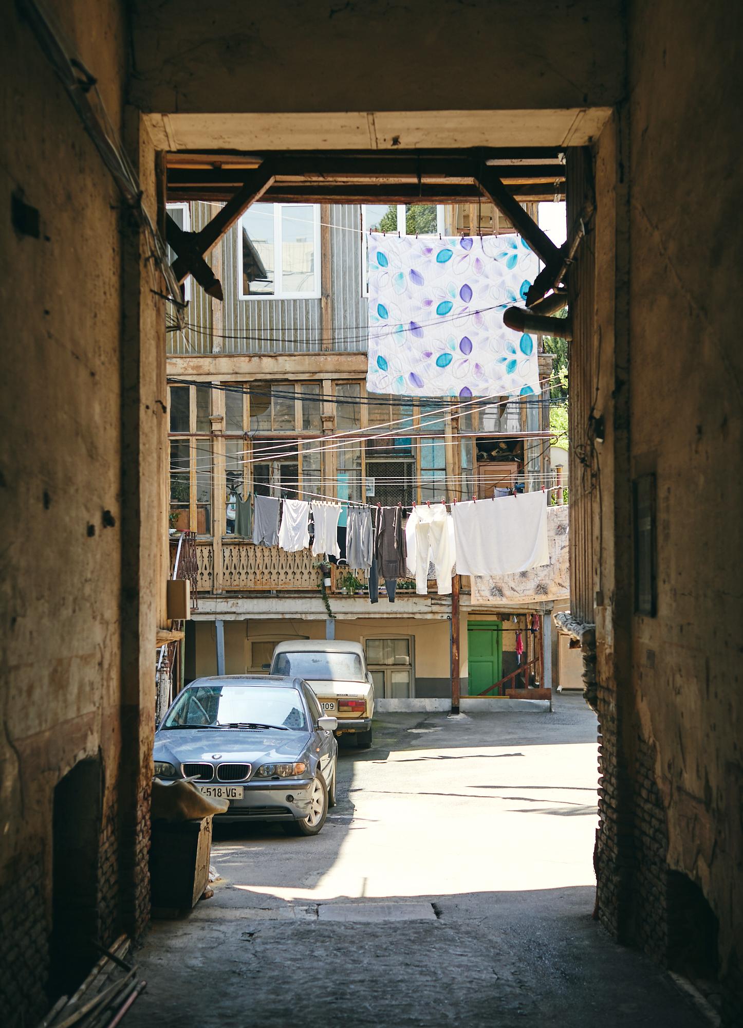 Дворик, Тбилиси