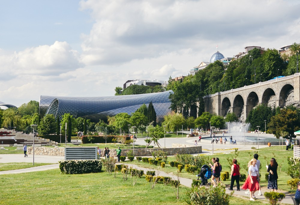 Городской парк Рике, Тбилиси