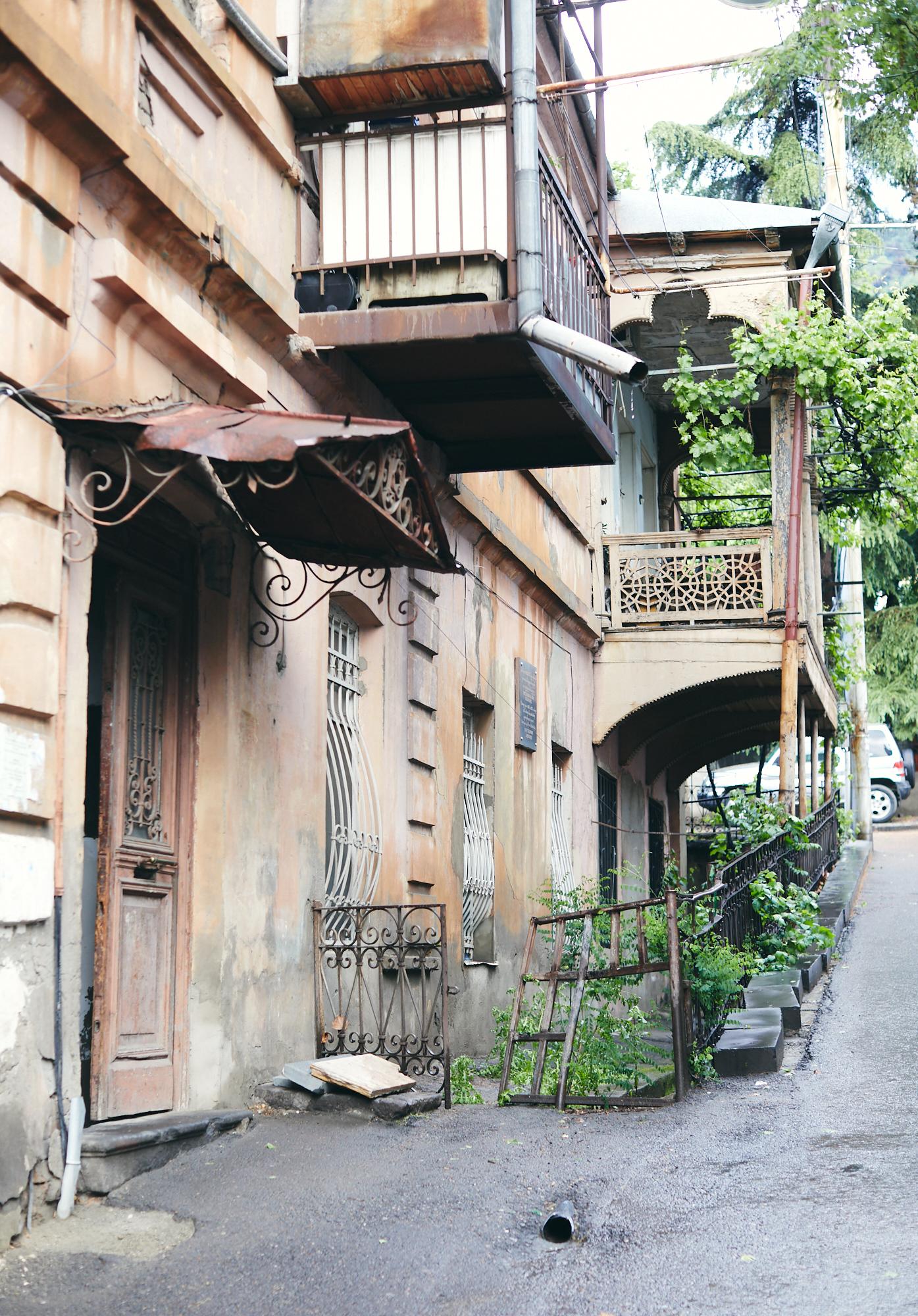 Балконы Тбилиси