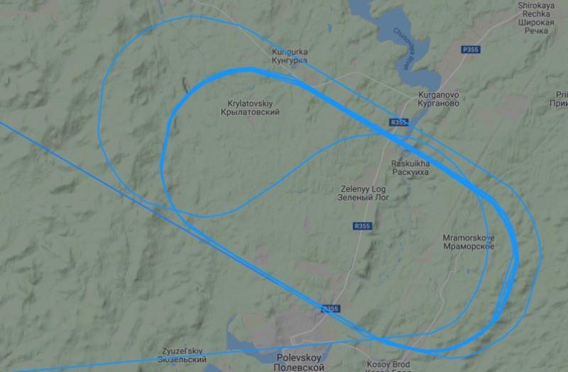 Мы кружим над Екатеринбургом
