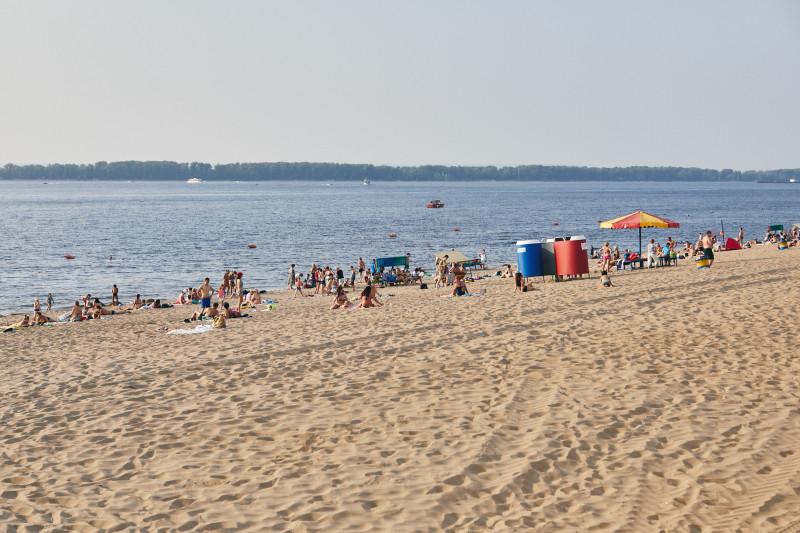 Самарский пляж